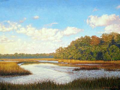 Painting - Original Autumn Flight by Michael Story