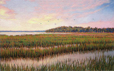 Painting - Original Color Of Morning by Michael Story