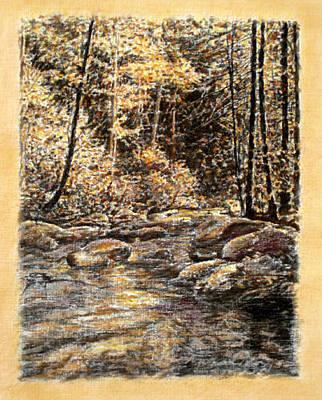 Painting - Original Dappled Light by Michael Story