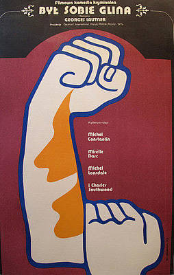 Original Film Poster - Il Etait Une Fois Un Flic - Polish Version Byt Sobie Glina - 1971 Original by Wiktor Gorka