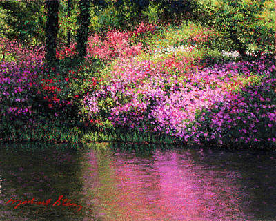 Painting - Original Full Bloom by Michael Story