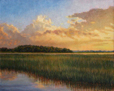 Painting - Original Golden Impressions by Michael Story