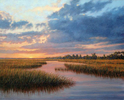 Painting - Original Hues Of December by Michael Story