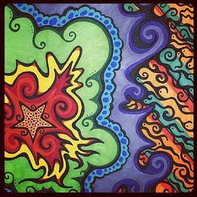 Star Photograph - Original #sharpie Art ! From by Mandy Shupp