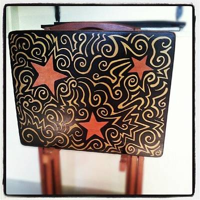 Star Photograph - Original #sharpie Art By Imagination by Mandy Shupp