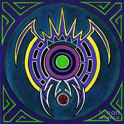 Mayan Painting - Orion by David Mel