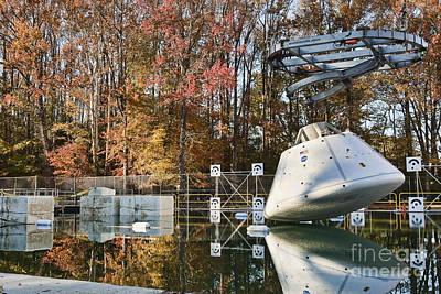 Orion Water Impact Test Art Print
