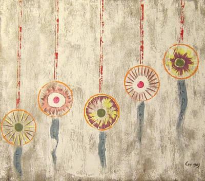 Painting - Ornaments by Jarunee Ward