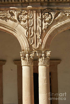 Photograph - Ornate Columns Mineral De Pozos Mexico by John  Mitchell