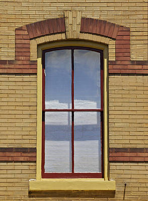 Photograph - Ornate Window by David Letts