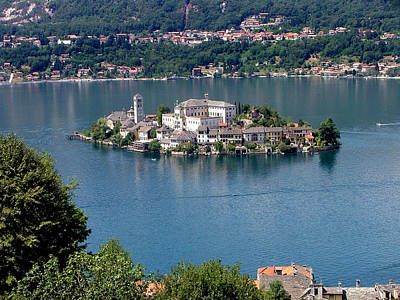Orta San Giulio Landscape Print by Paolomartinezphotography