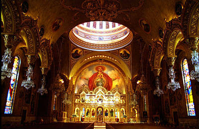 Photograph - Orthodox Church In La by Emanuel Tanjala