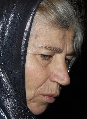 Orthodox Woman From Russia Original by Munir Alawi