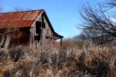 Art Print featuring the photograph Orton Barn by Kimberleigh Ladd