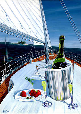 Painting - Osa Sailing  by Michael Cranford