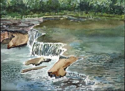 Osage Hills Art Print by Linda Pope