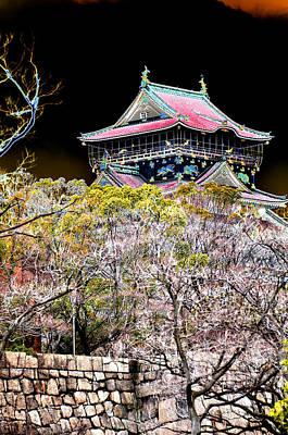 Photograph - Osaka Temple by Allan Rothman