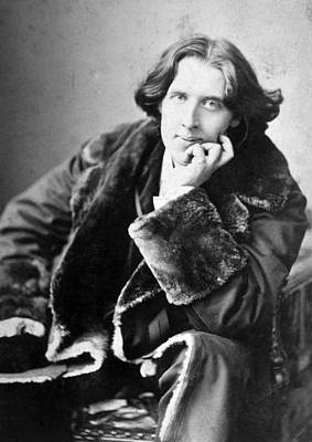 Oscar Wilde 1864-1900, Photograph Art Print by Everett