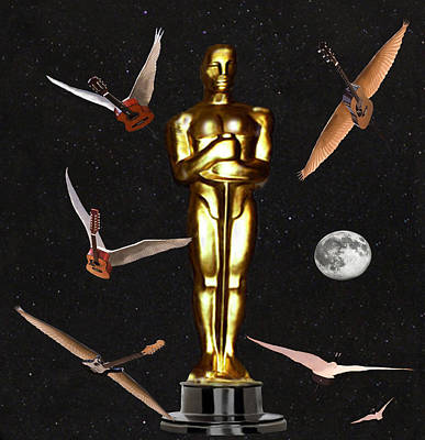 Oscars Night Out Art Print by Eric Kempson