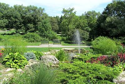 Photograph - Oshawa Botanical Garden 3 by Sharon Steinhaus