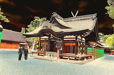 Photograph - Oska Temple 3 by Allan Rothman