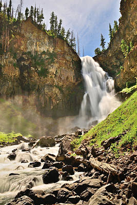 Photograph - Osprey Falls by Greg Norrell