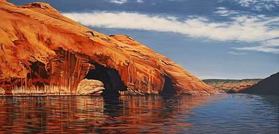 Painting - Osprey Hideaway by Cheryl Fecht