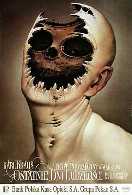 Mixed Media - Ostatnie Dni Ludzkosci by Wieslaw Walkuski