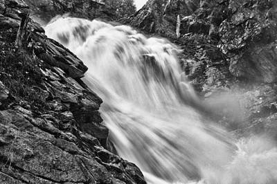 Photograph - Osterbro Falls by A A