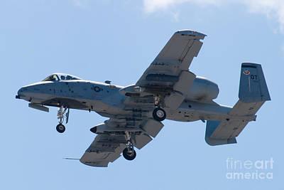 A-10a Thunderbolt Ii Photograph - Ot Af 79-0171 A 10 Thunderbolt II by Henry Plumley Jr