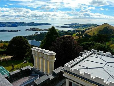 Otago From Larnach Castle Art Print