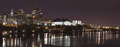 Art Print featuring the photograph Ottawa Skyline by Eunice Gibb