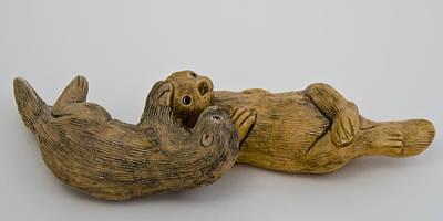 Love Photograph - Otter Love This by LeeAnn McLaneGoetz McLaneGoetzStudioLLCcom