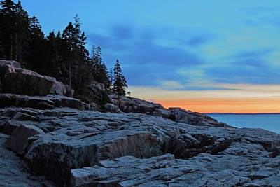 Photograph - Otter Point At Dawn by Rick Berk