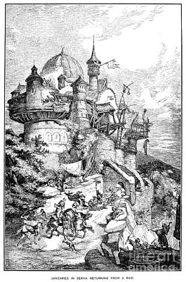 Ottoman Empire Janissaries Art Print