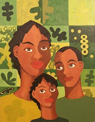 Our Family Art Print by Maggie Ruth