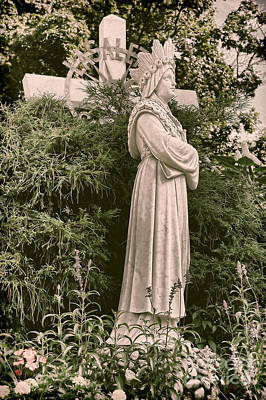 Our Lady Of Photograph - Our Lady Of La Salette by HD Connelly