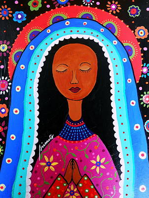 Our Lady Of Virgen Guadalupe Art Print by Pristine Cartera Turkus