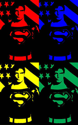 Digital Art - Our Man Of Steel by Saad Hasnain