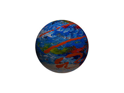 Our Perfect Planet Art Print by Robert Margetts