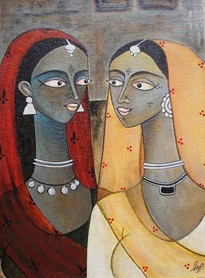 Painting - Our Secrets by Sanam Patil