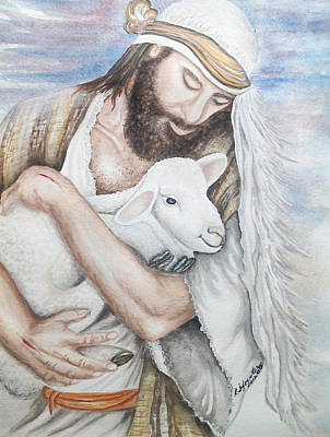 Our Shepherd Art Print by Robin Sylvester