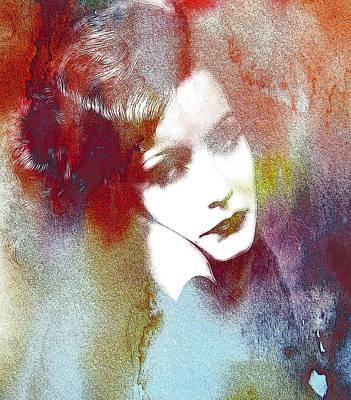 Greta Garbo Painting - Out Of Heaven by Steve K