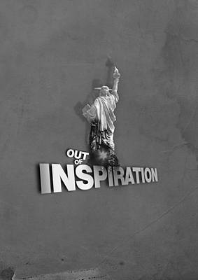 Out Of Inspiration Art Print by Daniel Stephen Gallery