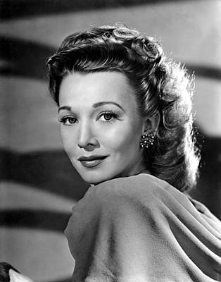 Out Of The Blue, Carole Landis, 1947 Print by Everett
