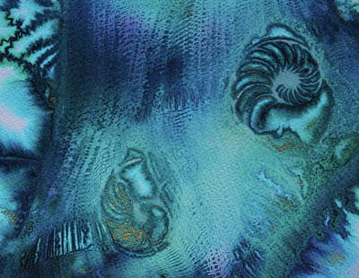 Art Print featuring the painting Out Of The Depths by Mary Sullivan