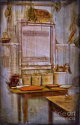 Photograph - Outdoor Kitchen by Judi Bagwell