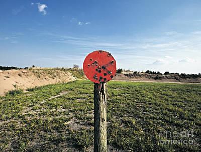 Target Field Photograph - Outdoor Target by Skip Nall