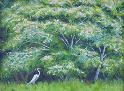 Outer Edge Of The Swamp Art Print by Betty McGlamery
