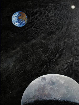 Painting - Outer Space by Alan Schwartz